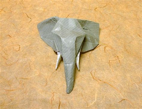 Origami Baby Elephant - origami elephants page 1 of 4 gilad s origami page