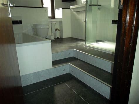 leveling a bathroom floor raised level bathroom floor
