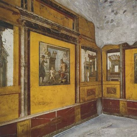 pompeii house of the vettii wall painting khan academy house of the vettii pompeii italy imperial roman c
