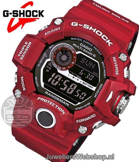 Casio G Shock Gw 9400rd 4 casio gw 9400rd 4er g shock horloge rangeman g shock