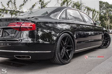 Audi Felgen Schwarz by A8 Savini Wheels