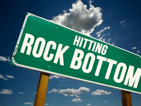 Hits Rock Bottom by Tricia Dycka Tricia Dycka