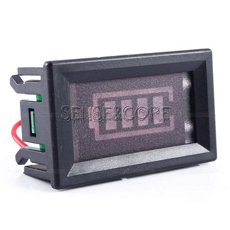 led stable led acid charge level battery indicator voltmeter
