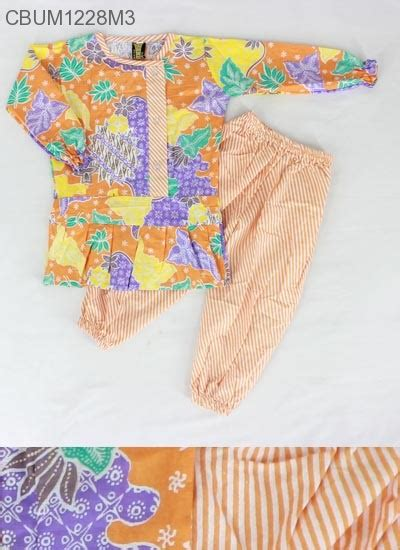 Baju Setelan Anak Kaos Celana Printing Model Wolf setelan anak shafana motif sekar baju muslim anak murah