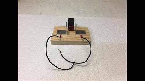 simple electric motor kitscience project  child youtube