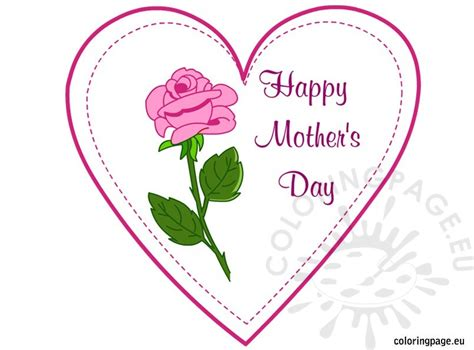 http earlyplaytemplates 2013 04 mothers day card templates html printable s day card coloring page
