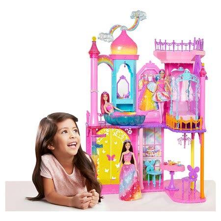 barbie doll house target target barbie dreamtopia princess castle only 24 99 reg 99 99