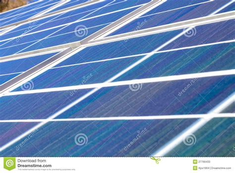 green power solar panels stock photos image 27766433