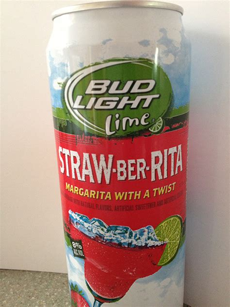 bud light lime straw ber rita beverages