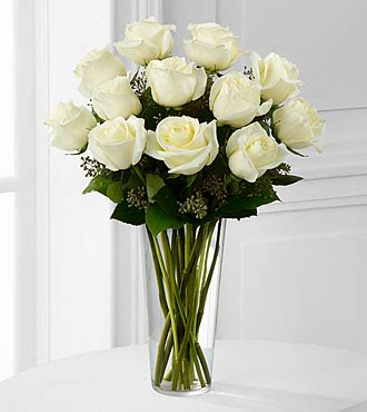 Ftd Vases by The White Bouquet By Ftd 174 Vase Included