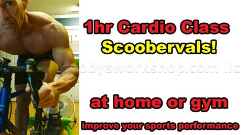 scoobervals one hour cardio workout scooby s home workouts