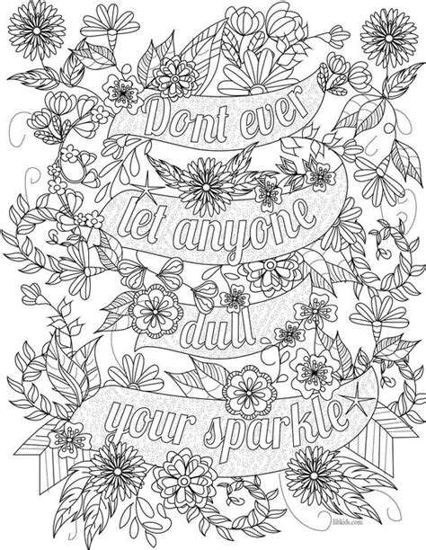 inspirational mandala coloring pages free inspirational quote adult coloring book image from