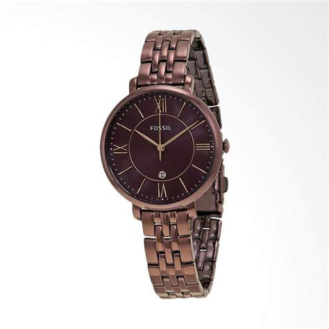 Jam Tangan Fossil Brown harga fossil es4006 jam tangan wanita brown pricenia