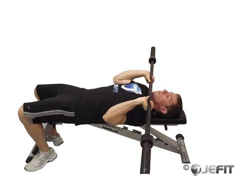 ez curl bar bench press barbell lying triceps press exercise database jefit