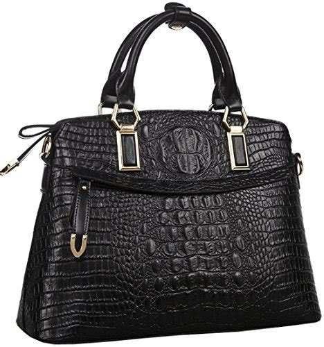 New Handbag 085 heshe 174 new office genuine leather crocodile simple