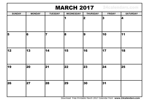 march 2017 calendar template 2017 calendar with holidays