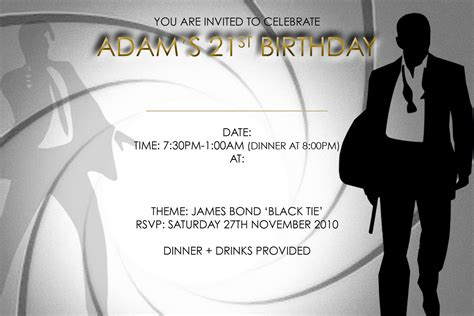 21 Birthday Invitation Card Template by 21st Birthday Invitation Template Best Ideas