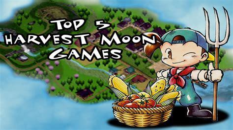 Harvest Moon 5 top 5 harvest moon
