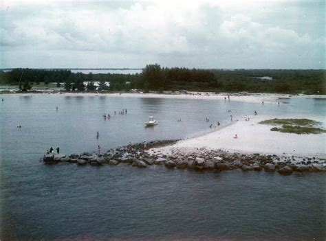 Indian River County Court Search Florida Memory View Overlooking Sebastian Inlet Indian River County Florida