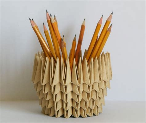 Useful Origami Things - 10 beautifully useful things made from useless trash