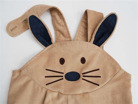 Rabbit Overall bunny rabbit dungaree overalls loubilou