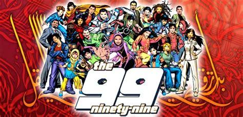 film animasi islam saudi jangan tonton the 99 film kartun superhero islam