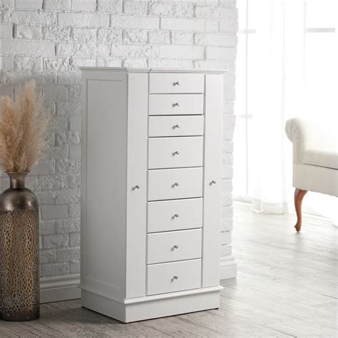 innovation mirror armoires white jewelry armoire armoire