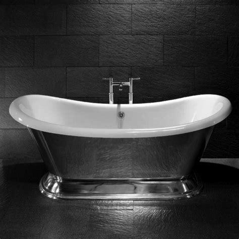 tub silver freestanding bath lemerand