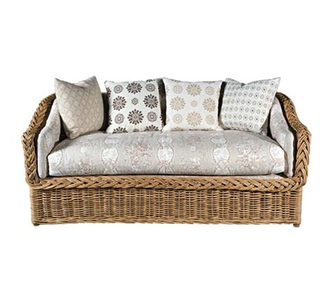 indoor wicker sectional classic square back sofa wicker material indoor