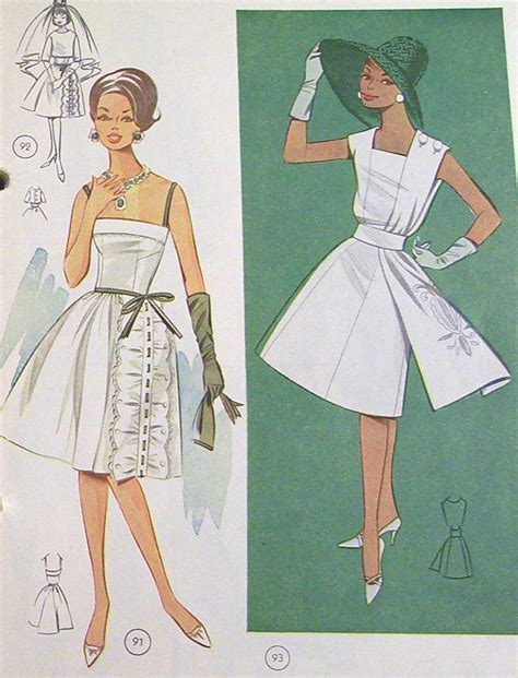the golden sixties style vintage 1960s the golden rule 224 sewing patterns