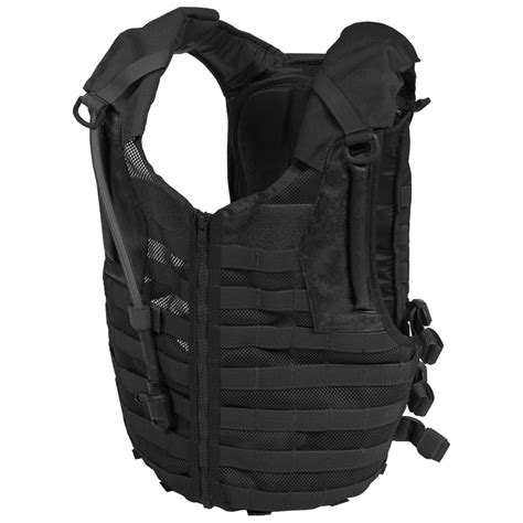 New Tactical Delta Black flyye delta army tactical mesh vest molle system hydration