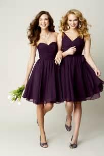 Deep purple bridesmaid dresses trendy dress