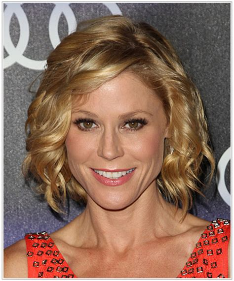hair with slight waves related keywords suggestions for julie bowen new haircut