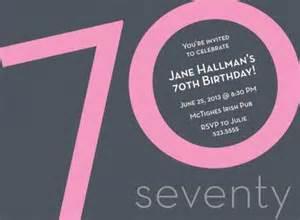 70th birthday invitations plumegiant com