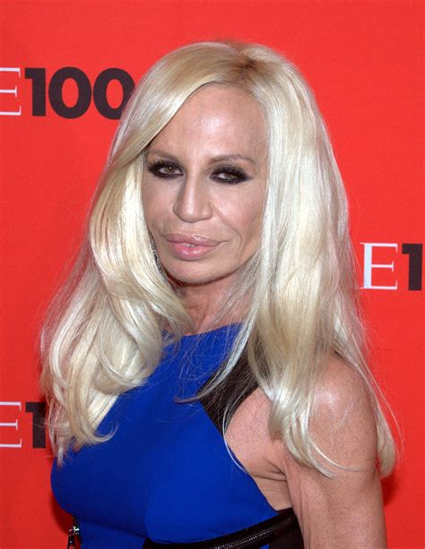 Donatella Versaces Admitted To Hospital For Anorexia by Donatella Versace