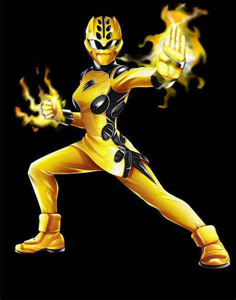 Jungle Fury Power Rangger Jungle Fury Yellow Ranger Mode The Power Ranger Fan