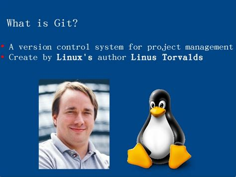 git tutorial linus torvalds test1 by zheng ajax chai