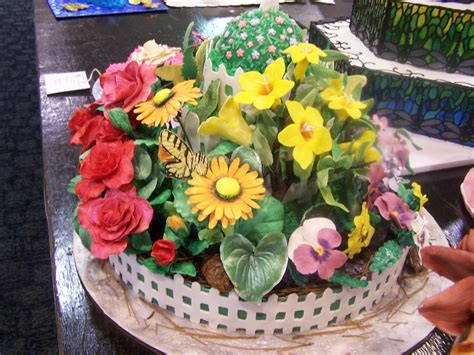 Flower Garden Cake Blue Ribbon Fair Recipes A Taste Of Carolina