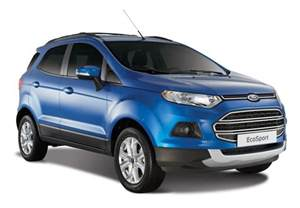 Ford Ecosport Philippines Ford Philippines Launches Limited Edition Ecosport Trend