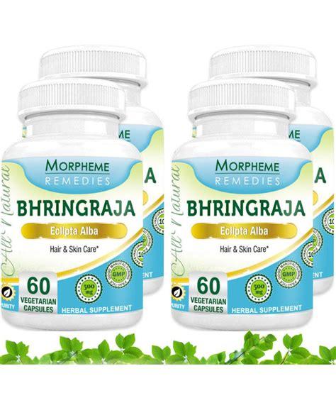 morpheme remedies bhringraja eclipta alba for hair