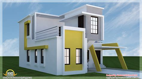 5 beautiful modern contemporary house 3d renderings