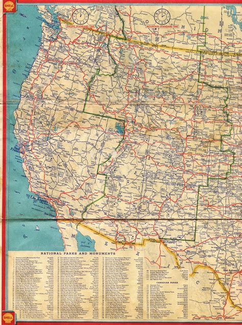 map of western us western us road map highways pictures to pin on pinsdaddy