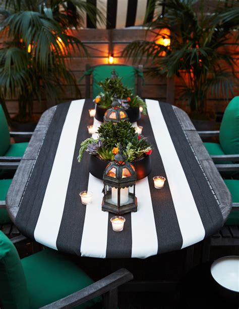 Patio Table Runner Outdoor Table Photos 7 Of 19 Lonny