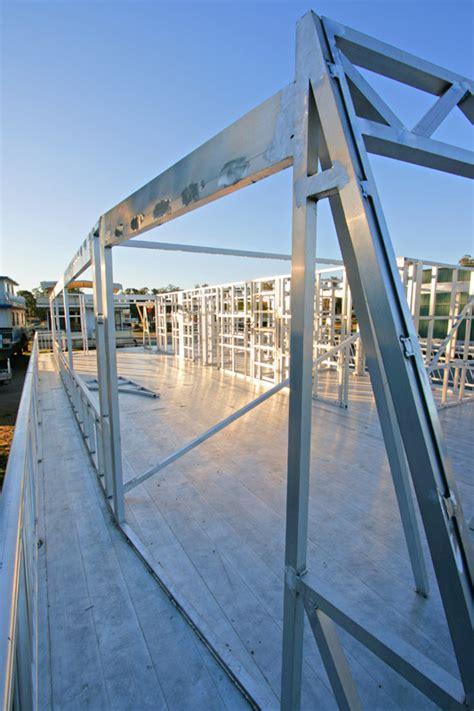 houseboat construction houseboat constructions all seasons houseboats