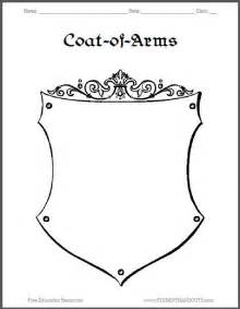 family coat of arms template best ideas about arms worksheet worksheet mystery and