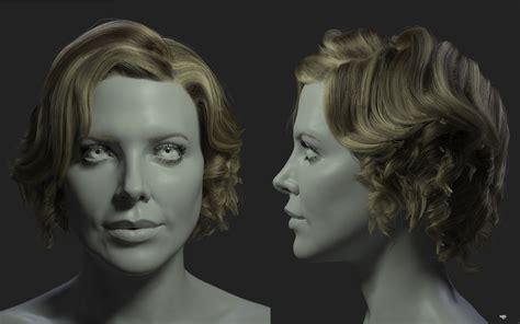 Tutorial Fibermesh Zbrush | fibermesh tutorial ringlet and curly hair