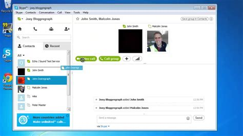 Make An International Conference Call by How To Do Conference Call Using Skype