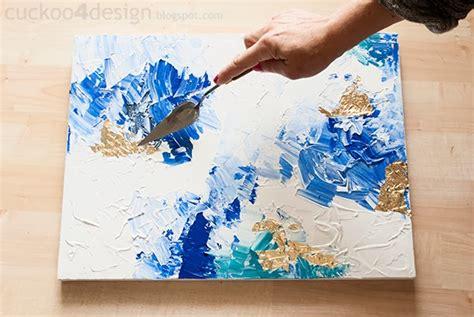 home design gold tutorial diy abstract artwork tutorial cuckoo4design