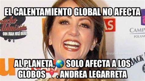Meme Andrea - los memes de andrea legarreta por su comentario sobre el