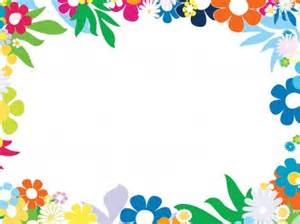 free floral colorful frames backgrounds for powerpoint